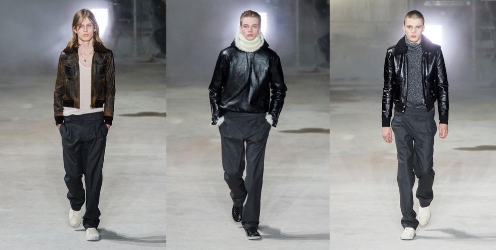 Saint Laurent moda uomo inverno 2018