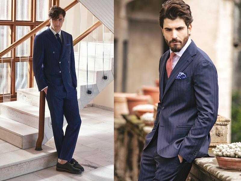 abiti blu eleganti uomo primavera abbinamenti