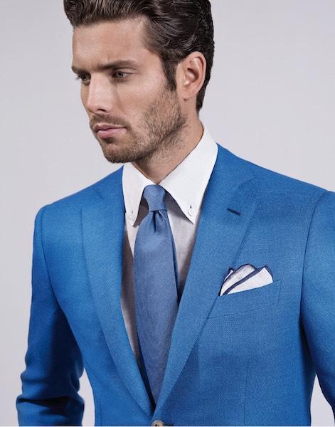 Abito Matrimonio Uomo Blu : Abito uomo blu elettrico estate moda donna
