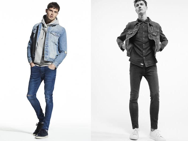 giacca jeans moda maschile primavera estate 2017
