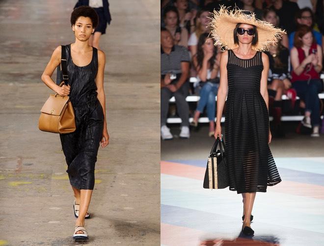 Vestito nero in estate  10 esempi di stile total black estivo ... 07f98ac5fa5