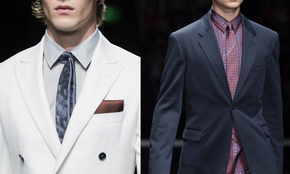 moda uomo 2017-tendenze cravatte estate