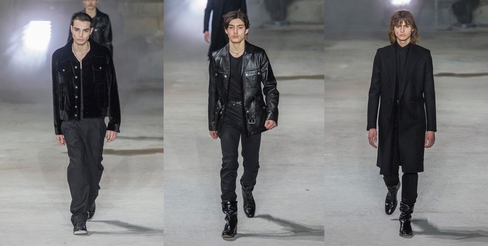 moda uomo inverno 2017-2018- saint laurent