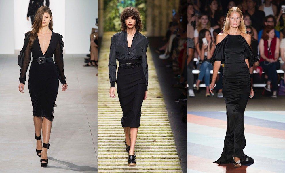 Total Black Uomo Matrimonio : Vestito nero in estate esempi di stile total black