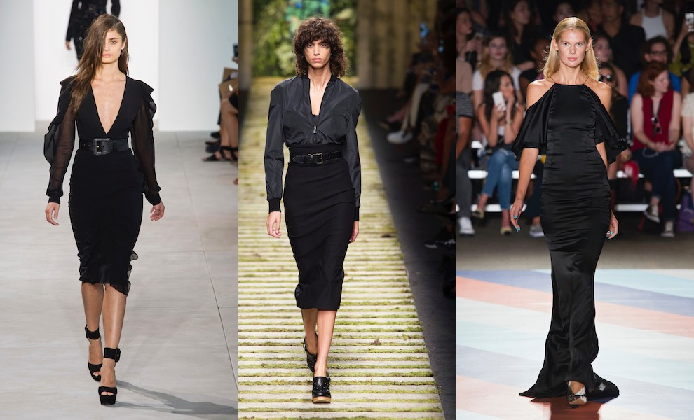 vestiti neri donna estate 2017