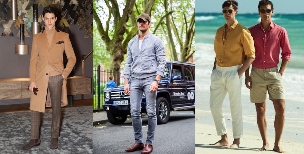Moda uomo come abbinare colori abbigliamento