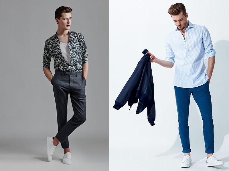 abiti casual moda uomo estate 2017