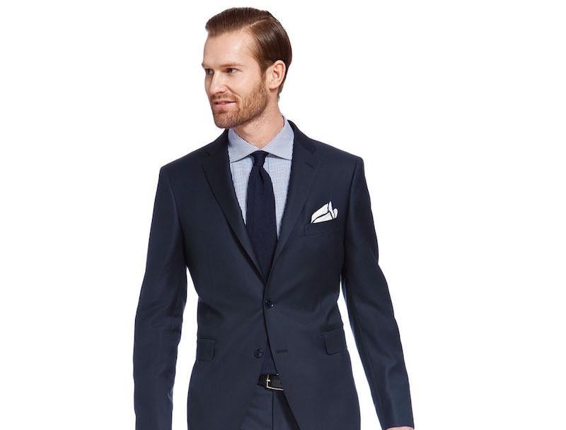 miglior servizio c1107 7fbbb Cravatta blu con abito blu – Vestiti da cerimonia