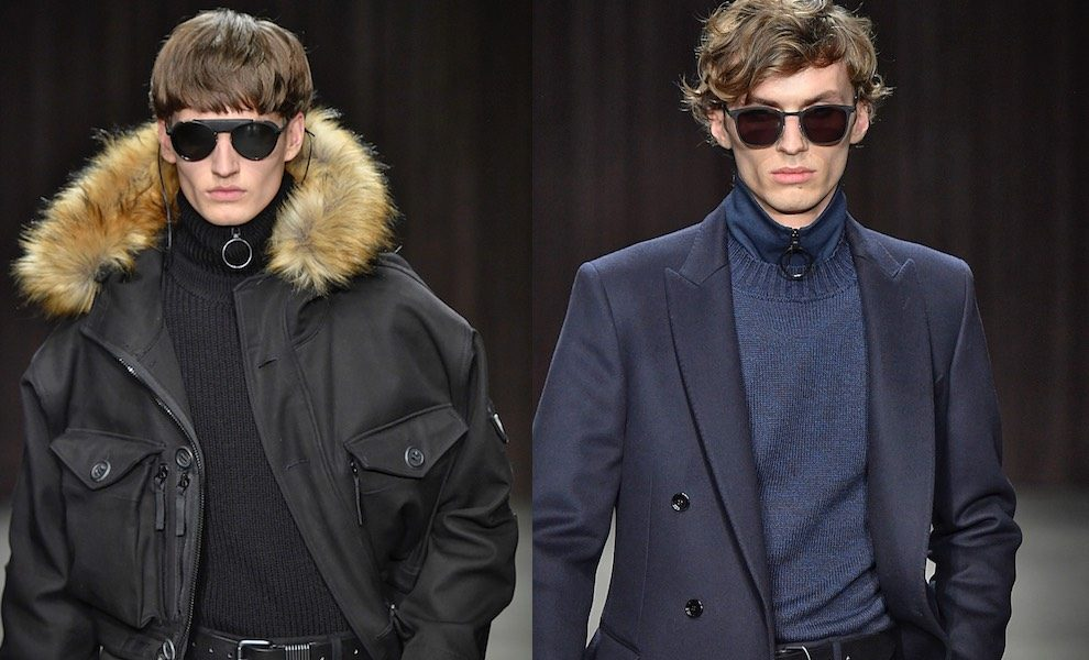 Moda uomo inverno 2017-2018 Hugo Boss