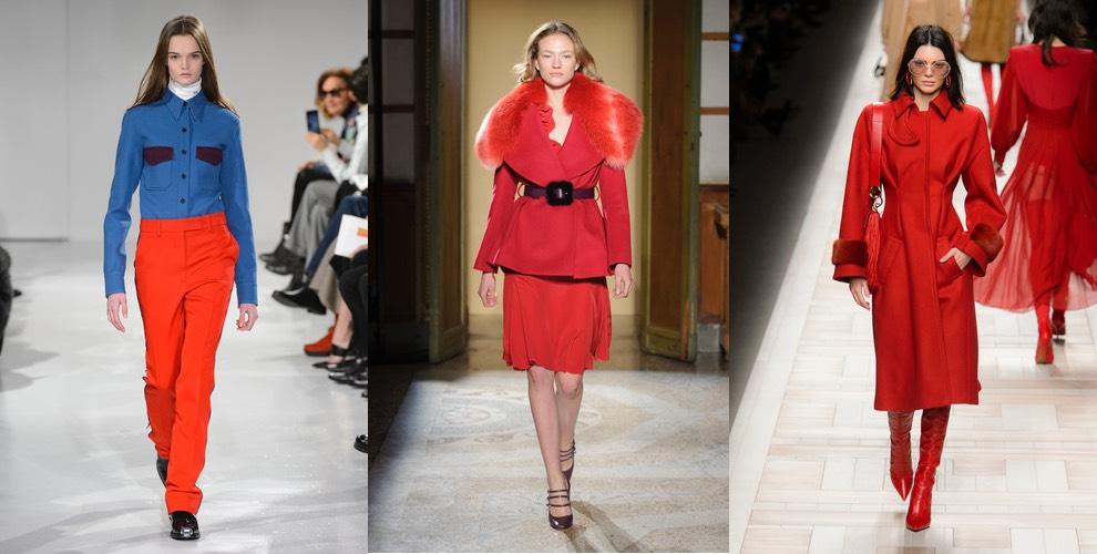 abiti rossi inverno 2017
