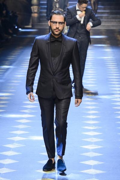Dolce e Gabbana abito da sera uomo inverno 2017 646a8f23180