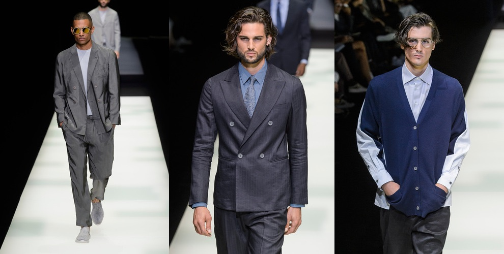Giorgio Armani abbigliamento uomo primavera estate 2018