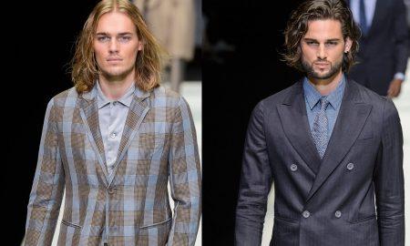 Giorgio Armani uomo moda primavera estate 2018
