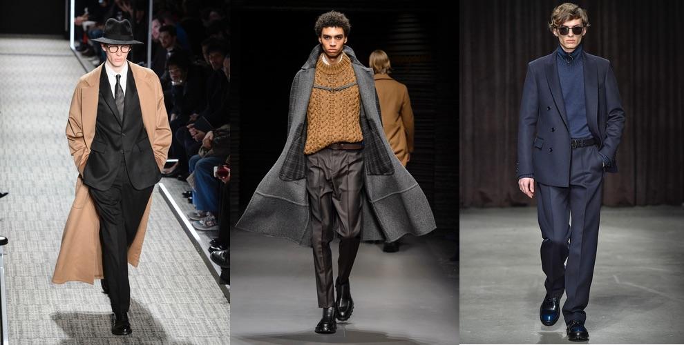 moda uomo colori inverno 2017-2018