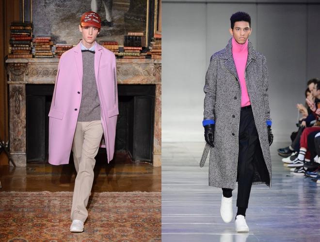 Moda uomo, colori di tendenza per l'inverno 2017 2018