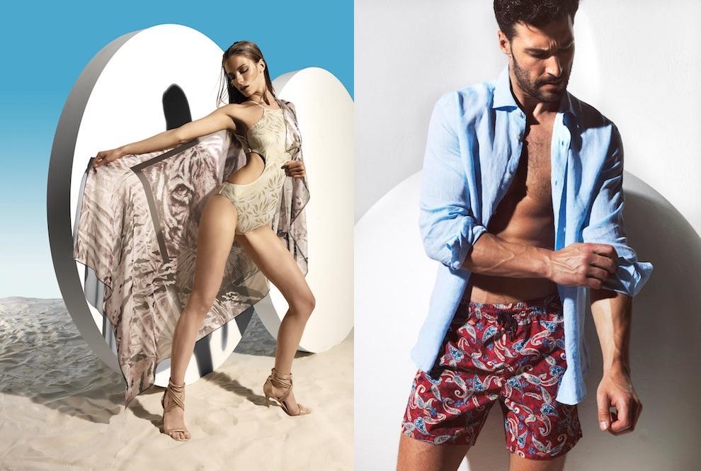 Parah costumi 2018 la collezione estate donna uomo moda - Costumi da bagno con pantaloncino ...