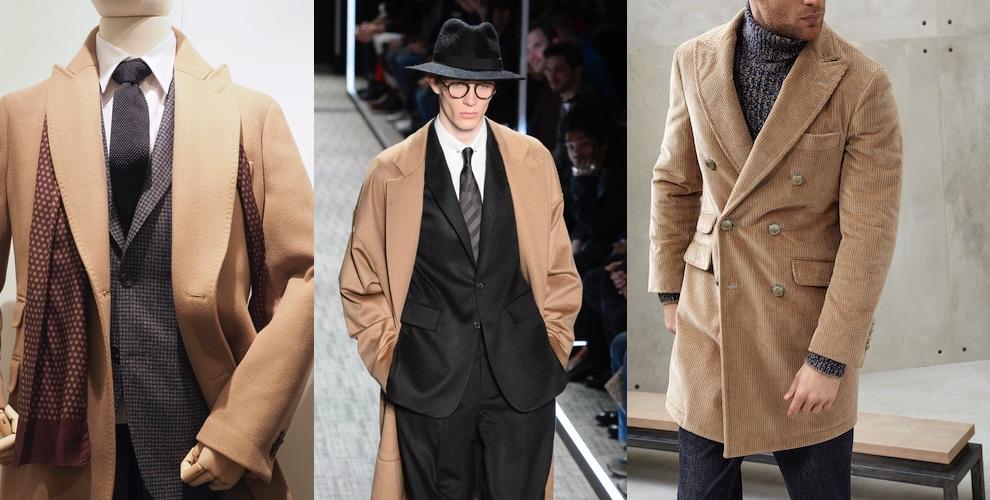 cappotti cammello uomo inverno 2017-2018