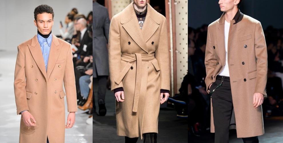 cappotti uomo cammello inverno 2018