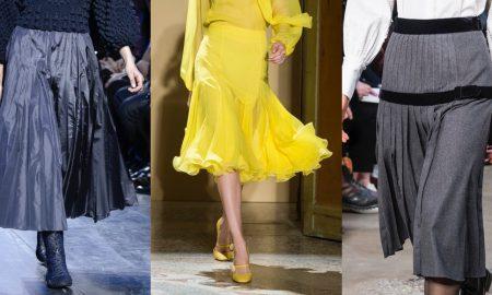 gonne moda tendenze inverno 2018