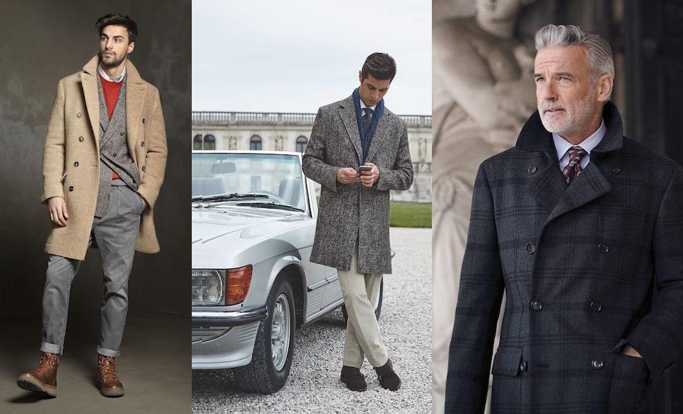 moda uomo inverno 2017-2018 Cappotti