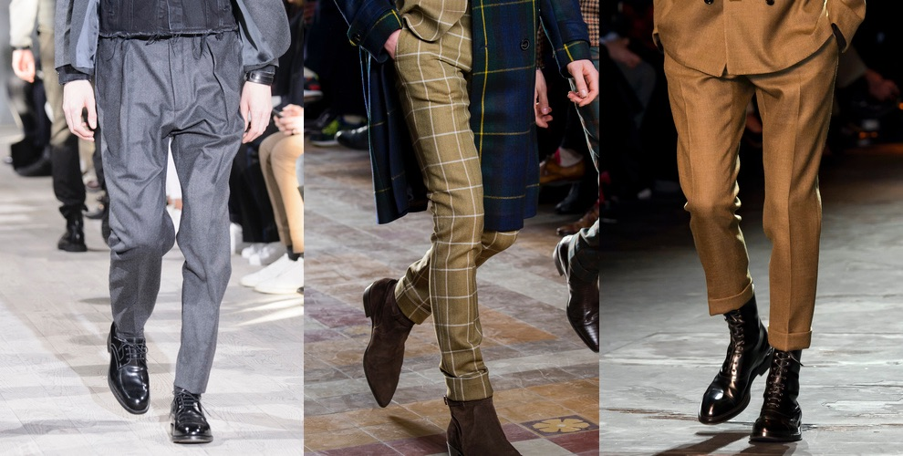 pantaloni moda uomo inverno 2017-2018