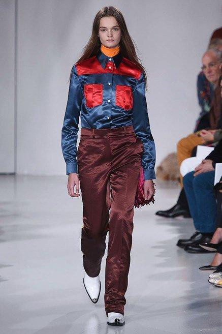 Calvin Klein sfilata P/E 2018