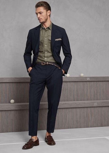 Outfit Matrimonio Uomo Estate : Le tendenze colore della moda uomo estate foto