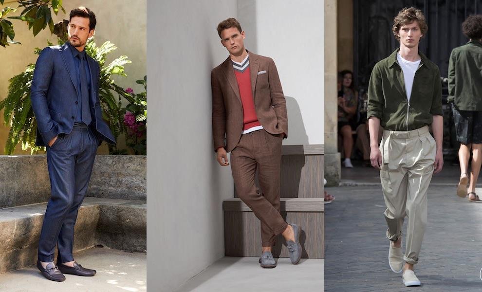 tendenze colori della moda uomo estate 2018