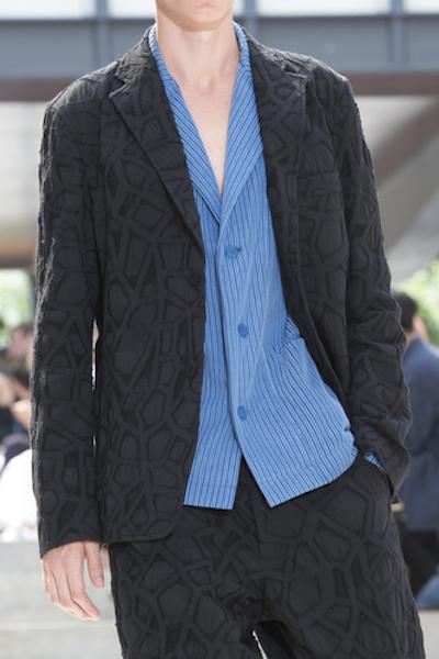 camicia uomo Miyake