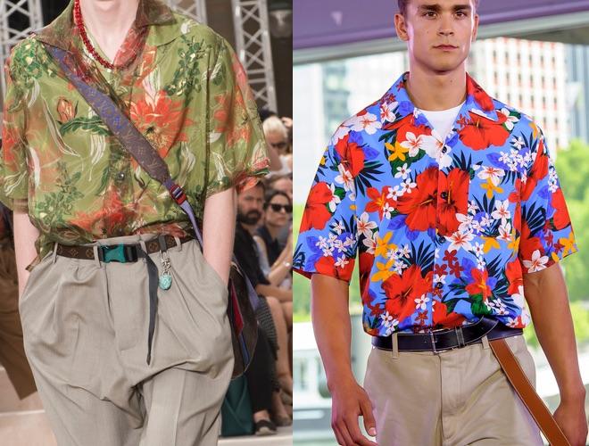 camicie a fiori collo cubana estate 2018