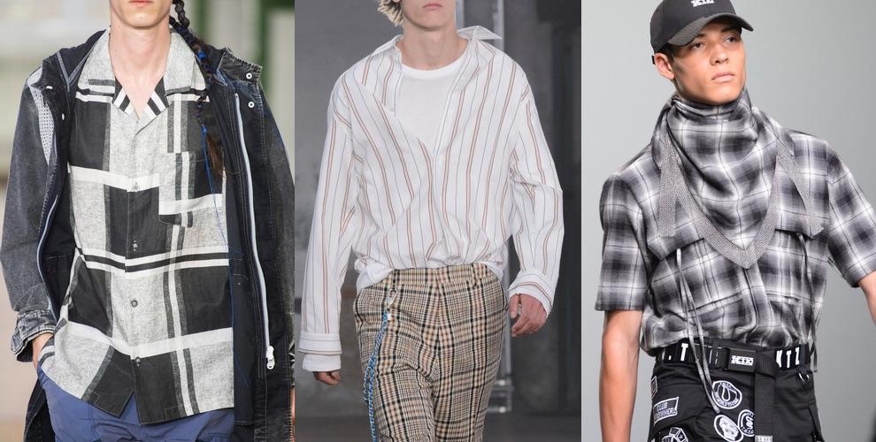camicie uomo casual primavera estate 2018