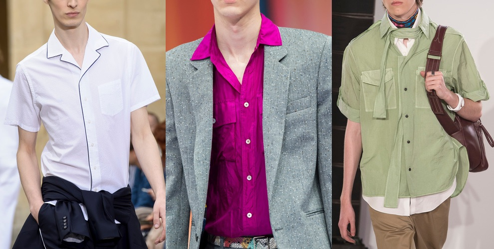camicie uomo estive 2018-tendenze