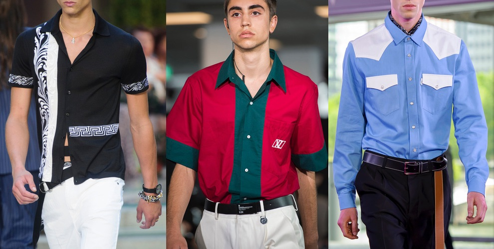 camicie uomo estive moda uomo 2018