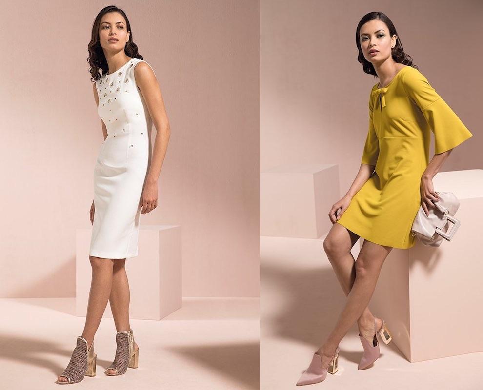 rinascimento abiti donna eleganti corti 2018-