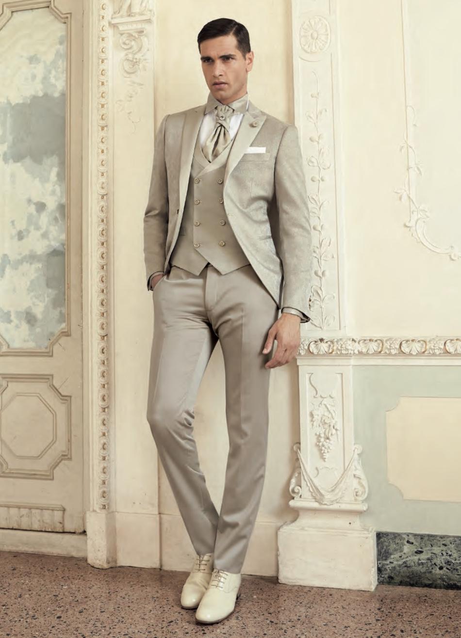 Abito Matrimonio Uomo Grigio : Uomo vestito sposo blu nero spezzato e colorato moda
