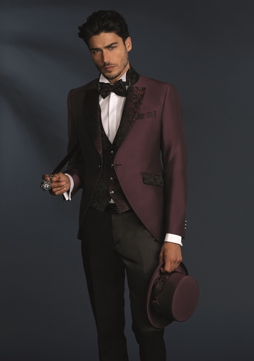 Vestito Matrimonio Uomo Nero : Uomo vestito sposo 2018. blu nero spezzato e colorato moda uomo