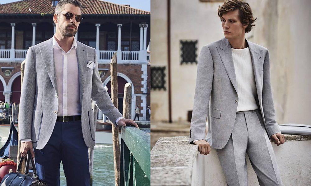 come indossare abito estivo da uomo