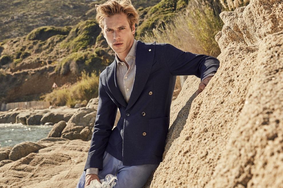 giacca blu estate luigi bianchi mantova 2018