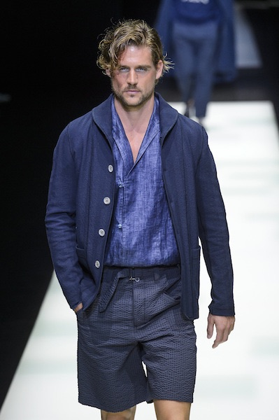 Giorgio Armani bermuda camicia estate 2018