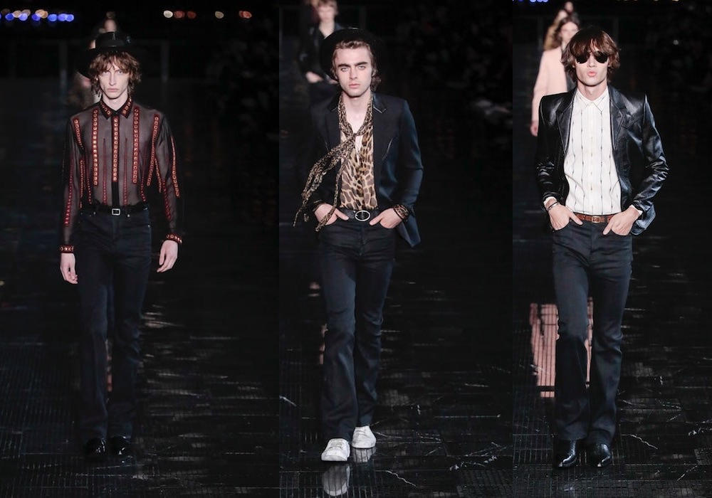 Saint Laurent uomo estate 2019