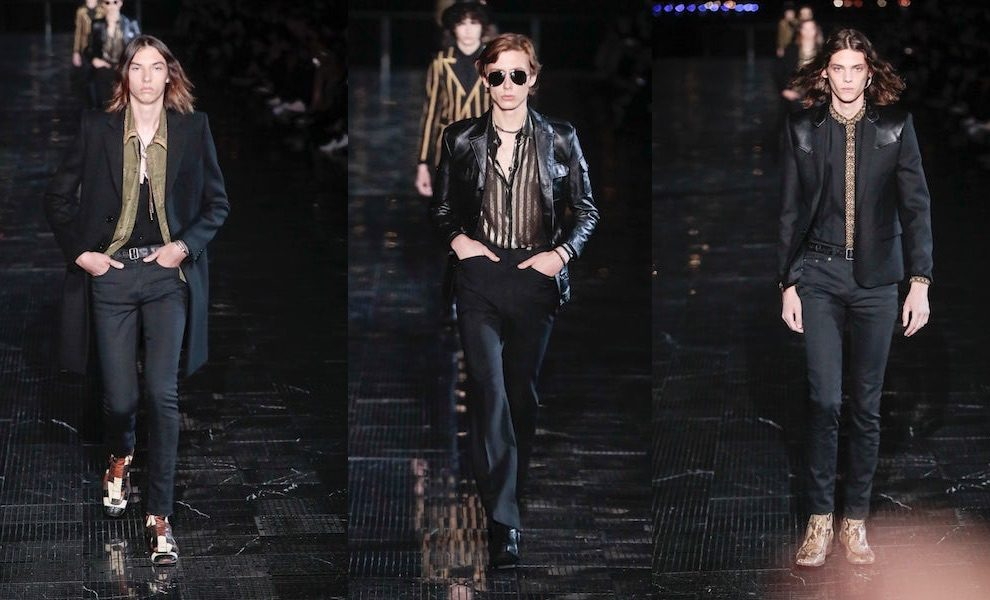 Saint laurent uomo primavera estate 2019