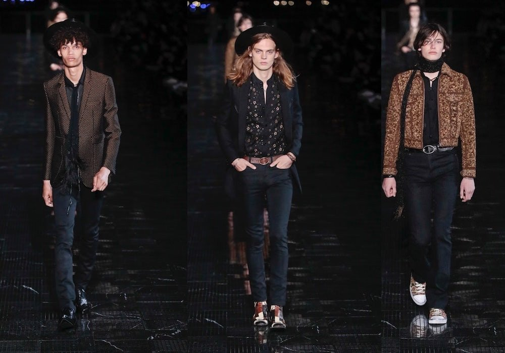 Saint Laurent uomo primavera estate 201