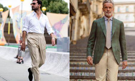 pantaloni beige abbinamenti uomo