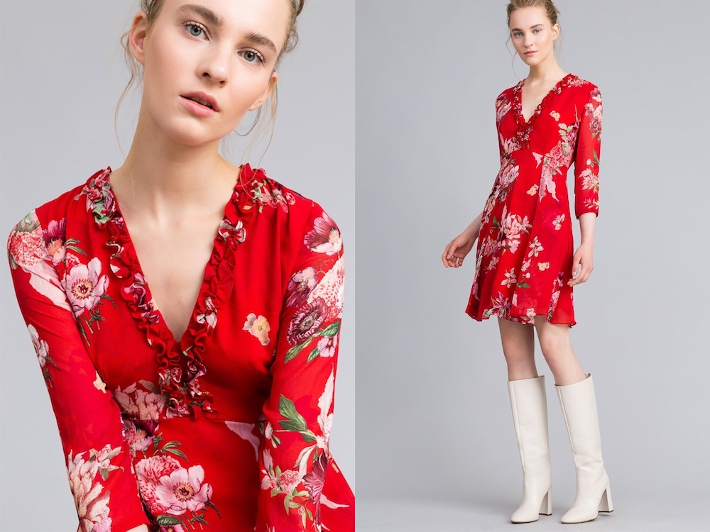 twiset vestito corto 2018-2019