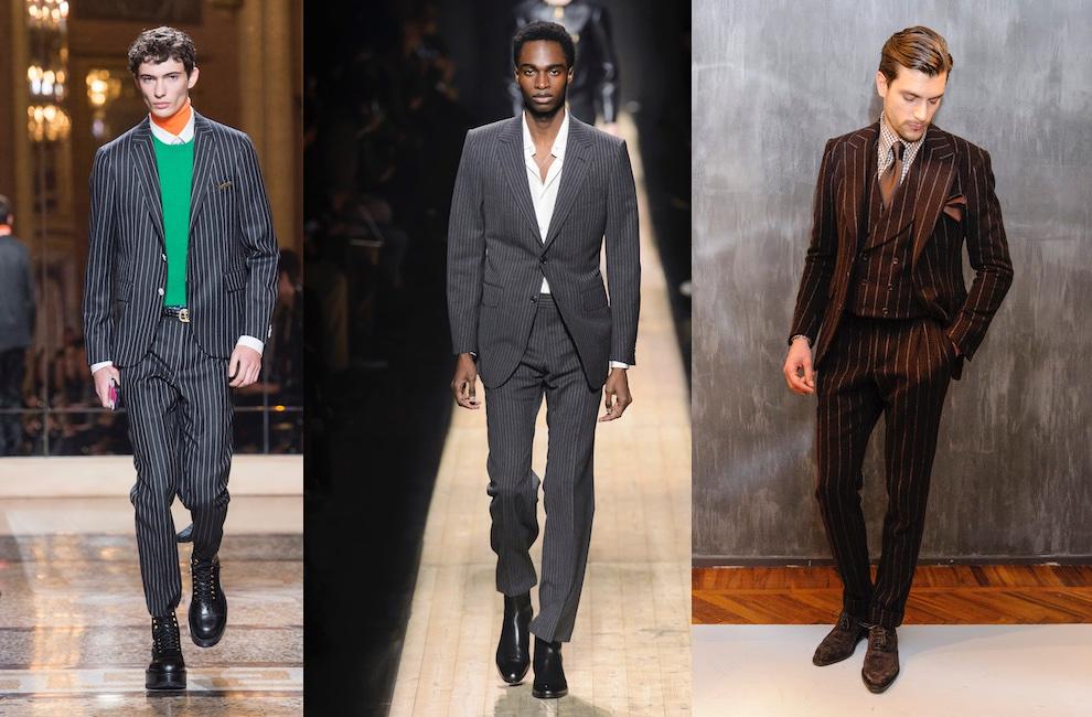 Moda uomo inverno 2019 abiti tendenze