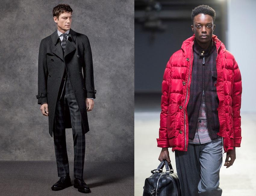 moda uomo colori inverno 2018-2019