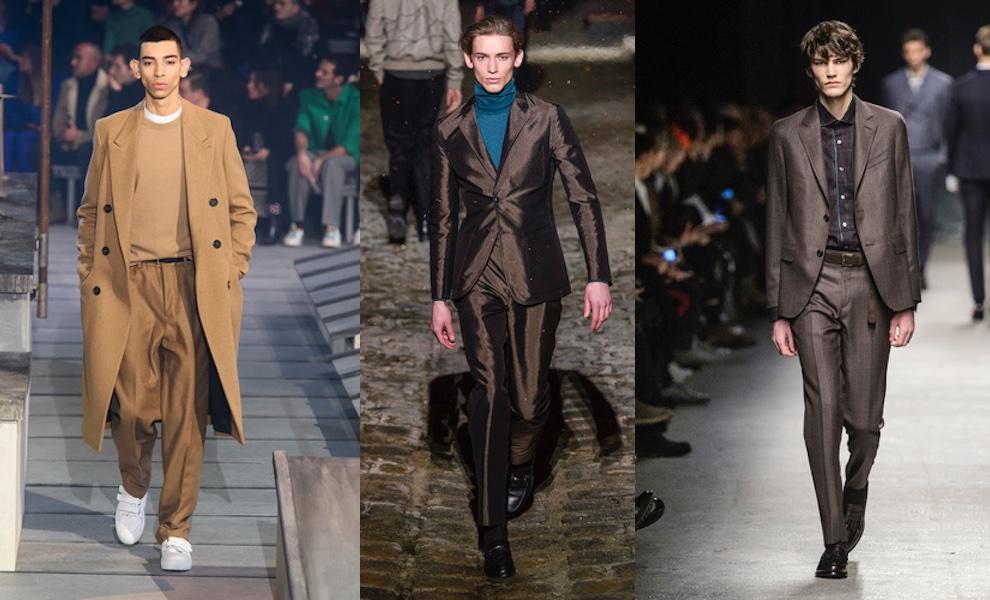 tendenze colori moda uomo inverno 2018-2019