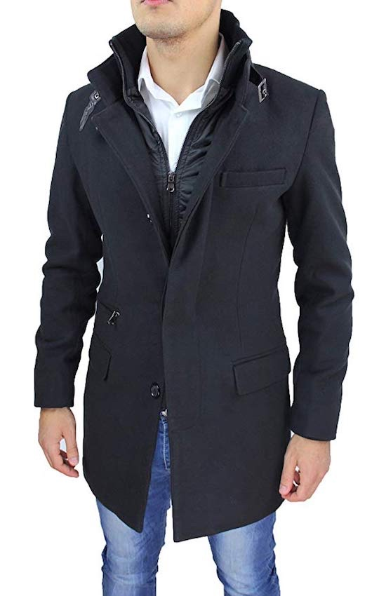 cappotto uomo inverno 2019 amazon
