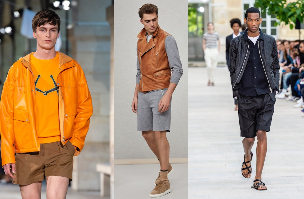 moda uomo bermuda primavera estate 2019