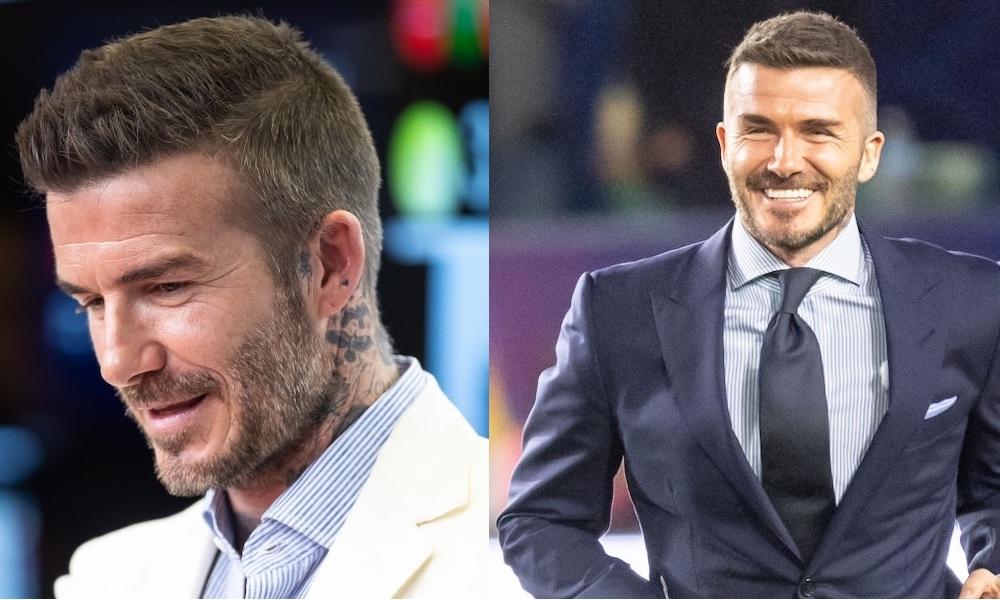 David Beckham stile